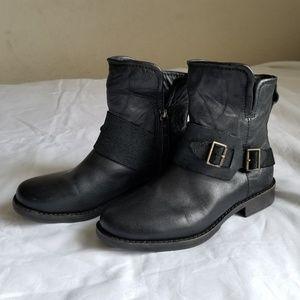 UGG Ausrralia Cybele Black Boots size 6